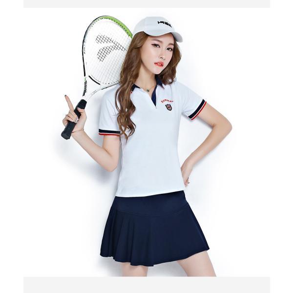 スポーツウェア レディース 上下セット ジャージ スカート セットアップ スウェットセット テニスウェア カジュアル ゴルフ lgw02|jwstore|08