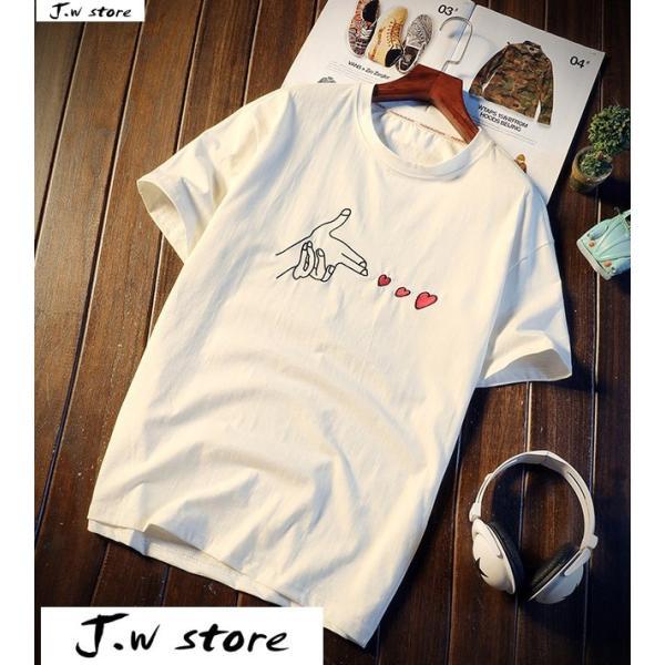 メンズ Tシャツ 半袖 トップス カットソー シャツ クルーネック 丸首 ファッション おしゃれ 大きいサイズ オーバーサイズ 夏 綿 2020 jwstore
