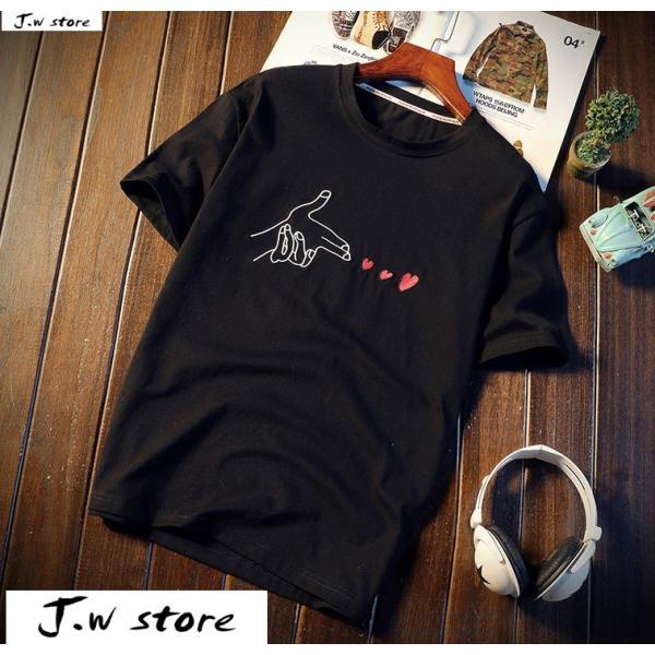 メンズ Tシャツ 半袖 トップス カットソー シャツ クルーネック 丸首 ファッション おしゃれ 大きいサイズ オーバーサイズ 夏 綿 2020 jwstore 03