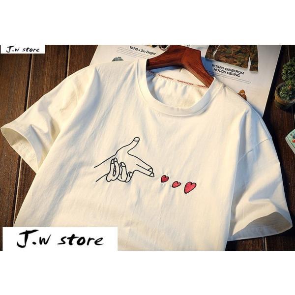 メンズ Tシャツ 半袖 トップス カットソー シャツ クルーネック 丸首 ファッション おしゃれ 大きいサイズ オーバーサイズ 夏 綿 2020 jwstore 07