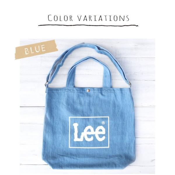 Lee リー コットン デニム キャンバス 帆布 ビックプリント トート 0425371 ユニセックス レディース 買い物 旅行 バッグ カバン 鞄 かばん ママバッグ