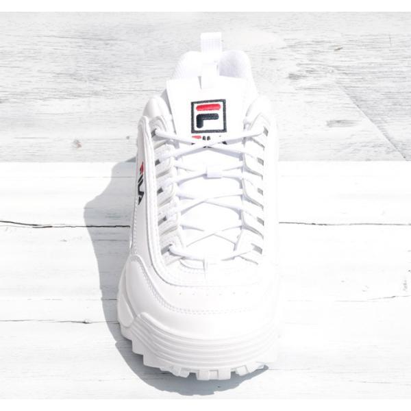 FILA フィラ ディスラプター2 DISRUPTOR2 スニーカー ダッドシューズ ダッドスニーカー F0215 ホワイト|jxt-style|03