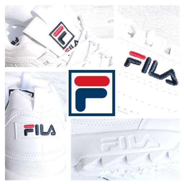 FILA フィラ ディスラプター2 DISRUPTOR2 スニーカー ダッドシューズ ダッドスニーカー F0215 ホワイト|jxt-style|09
