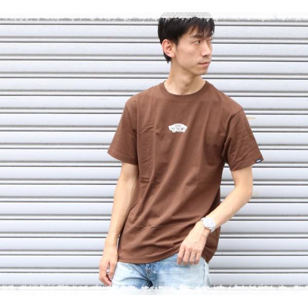 VANS ヴァンズ バンズ Tシャツ オフザウォール バンズロゴ スケートロゴ カリフォルニア バックプリント 半袖 ロゴ VA18HS-MT19 メンズ プリントTシャツ|jxt-style|05