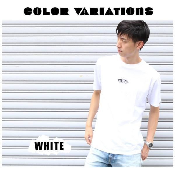 VANS ヴァンズ バンズ Tシャツ オフザウォール バンズロゴ スケートロゴ カリフォルニア バックプリント 半袖 ロゴ VA18HS-MT19 メンズ プリントTシャツ|jxt-style|09