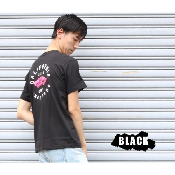 VANS ヴァンズ バンズ Tシャツ オフザウォール バンズロゴ スケートロゴ カリフォルニア バックプリント 半袖 ロゴ VA18HS-MT19 メンズ プリントTシャツ|jxt-style|10