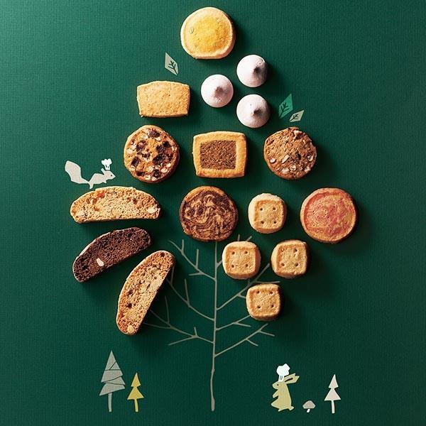 お菓子 詰め合わせ Forecipe ちいさな森のクッキーS 名入れ対応 〈99031-01〉 FRCP-15|jyoei|02