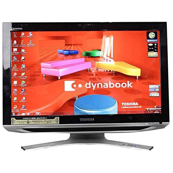 ★限定1台★ 中古 一体型パソコン 東芝 Qosmio D711/T7CB ブラック Core i5 2410M メモリ4GB HDD1TB Windows7 21.5型フルHD ブルーレイ 初期設定済