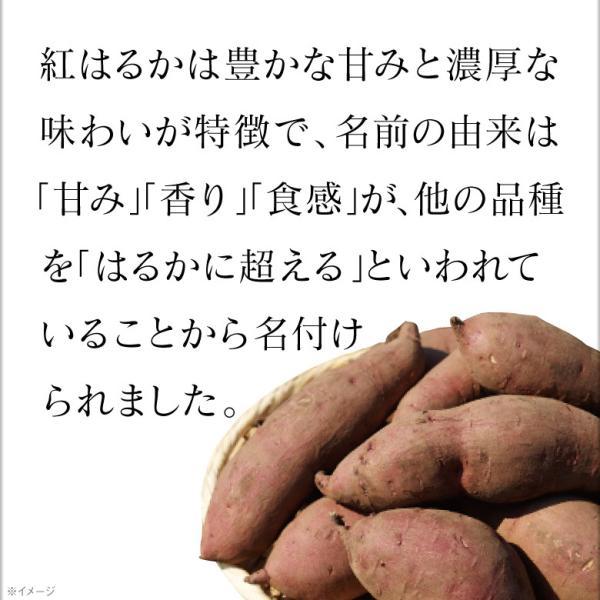 ポイント2倍 鹿児島県産 さつまいも 紅はるか(生芋)3kg M・Lサイズ混載|jyonetsubatake|03