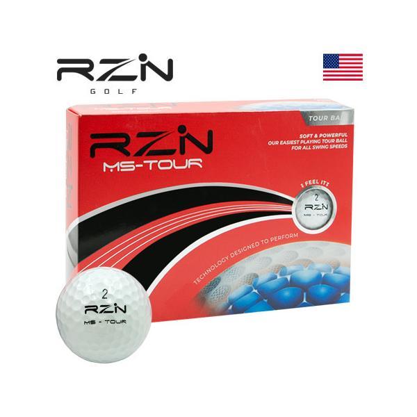 RZNGOLFMS-TOUR3ピースウレタンカバーゴルフボール1ダース(全12球)USA直輸入品レジンゴルフ