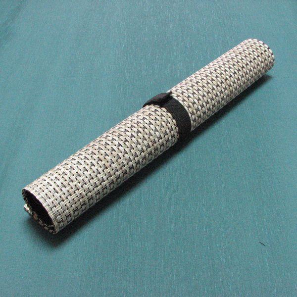 筆巻き 中  サイズ35×35cm 10ポッケト・|jyukodo|04