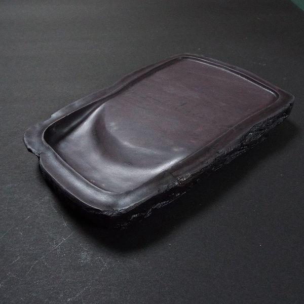 麻子坑硯 天然型7吋|jyukodo|04
