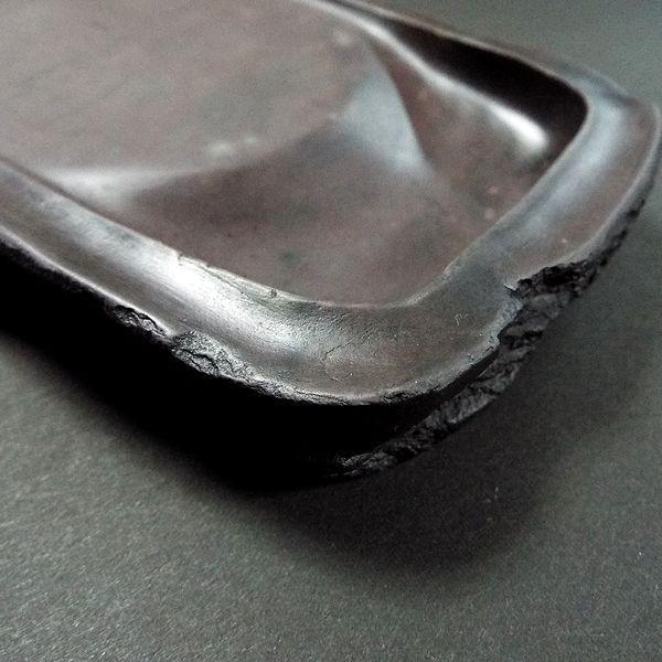 麻子坑硯 天然型7吋|jyukodo|05