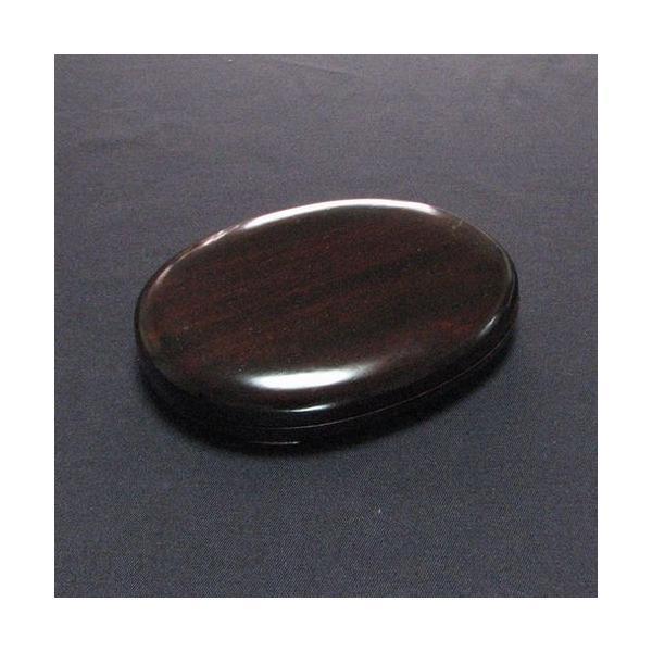 携帯用硯  楕円5吋|jyukodo|04