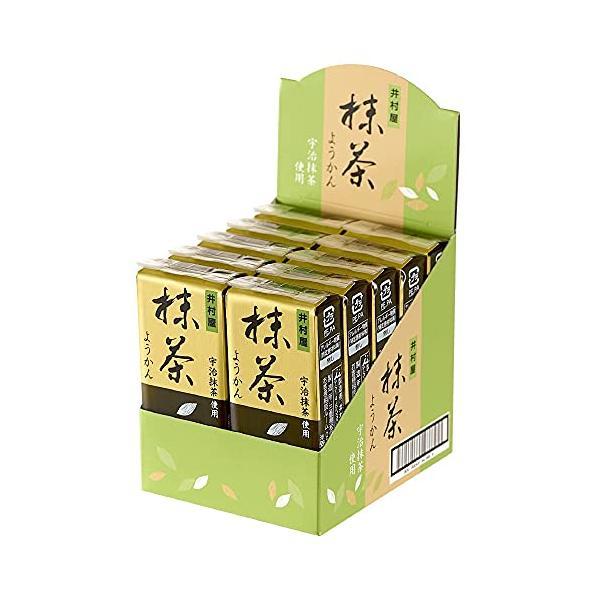 井村屋 58g ミニようかん 抹茶 58g×10個|jyun-store