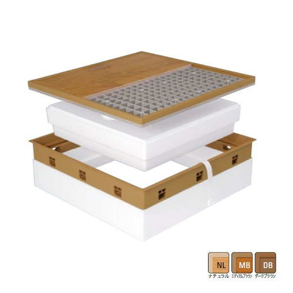 【SPF-R45F15-BL3】城東 内装建材 高気密型床下点検口 寒冷地高断熱型 450×600タイプ 【Joto】/代引き不可品