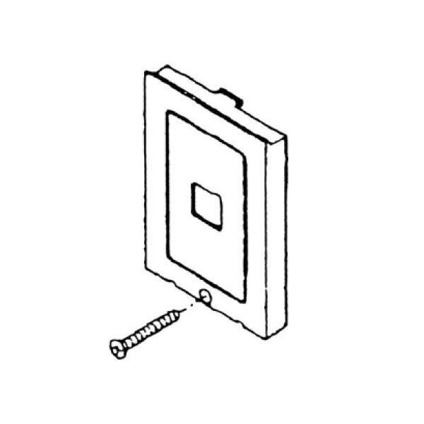 パナソニック CT560H押釦化粧板セット(グレー) CT560H03