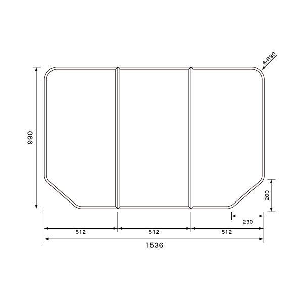 パナソニック GTD76KN11 組フタ:ワイド浴槽用