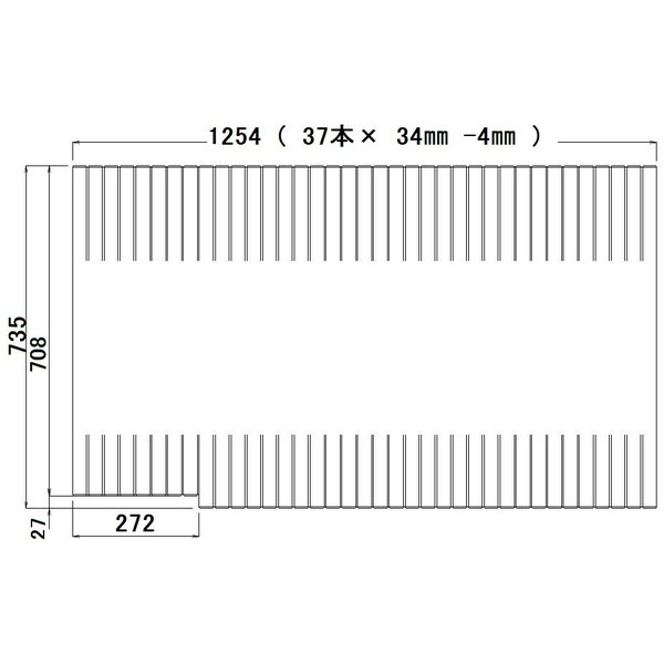 パナソニック アクリーナソファ浴槽1216用巻ふた(L勝手用) GKR72MF5S1LEC