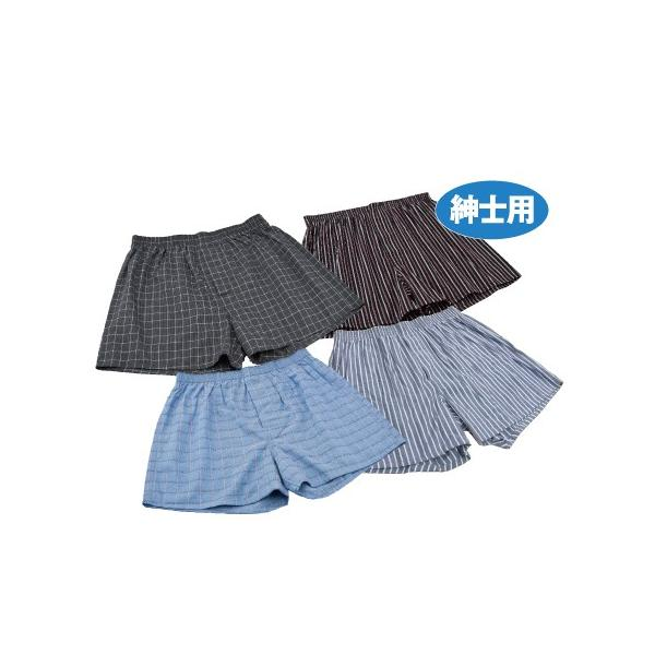ダンディ粋 トランクス ちょいモレ 4枚組 - 東京山海堂|k-1ba