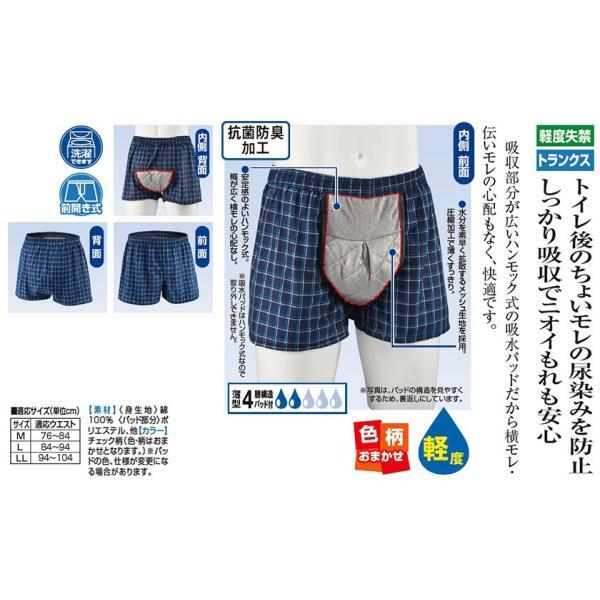 シークレットトランクス 軽  3枚組 - 東京山海堂|k-1ba|02
