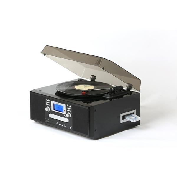 ダブルCDダビングマルチプレーヤー レコード カセット CDダビング - 熟年時代|k-1ba