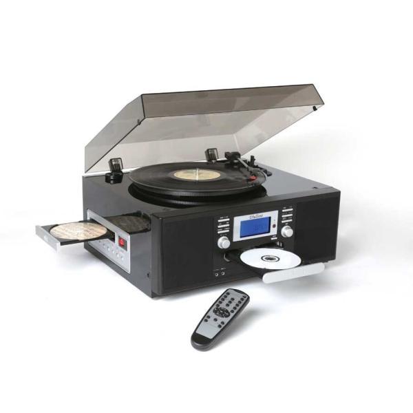 ダブルCDダビングマルチプレーヤー レコード カセット CDダビング - 熟年時代|k-1ba|02