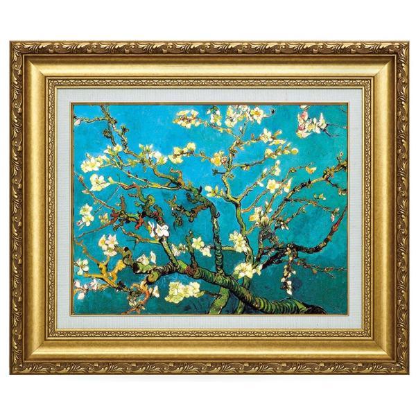 ゴッホ 花咲くアーモンドの枝 立体複製名画 美術品 レプリカ - アートの友社 k-1ba