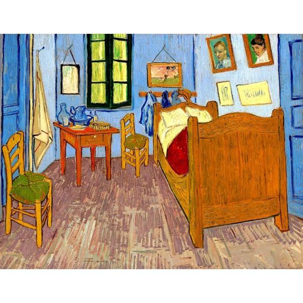 ゴッホ ファン・ゴッホの寝室 立体複製名画 美術品 レプリカ - アートの友社|k-1ba|02