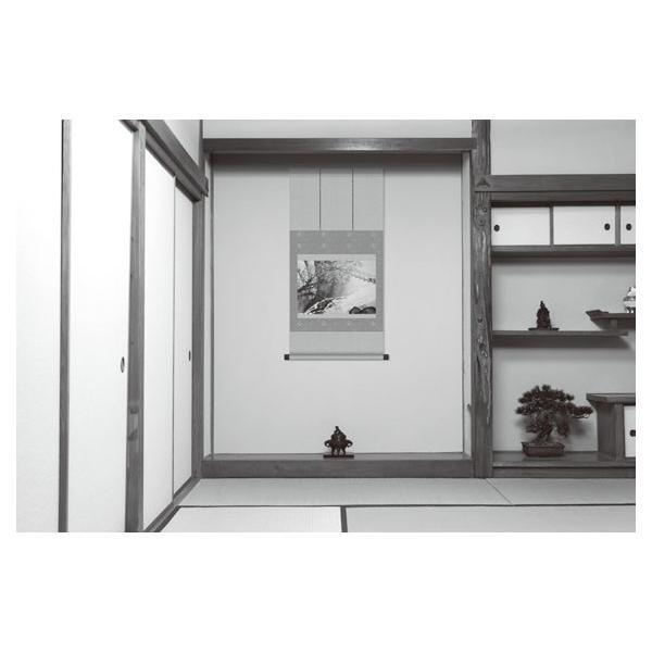 四季山水 4点セット 川合玉堂 山水画 複製額 - アートの友社|k-1ba|02