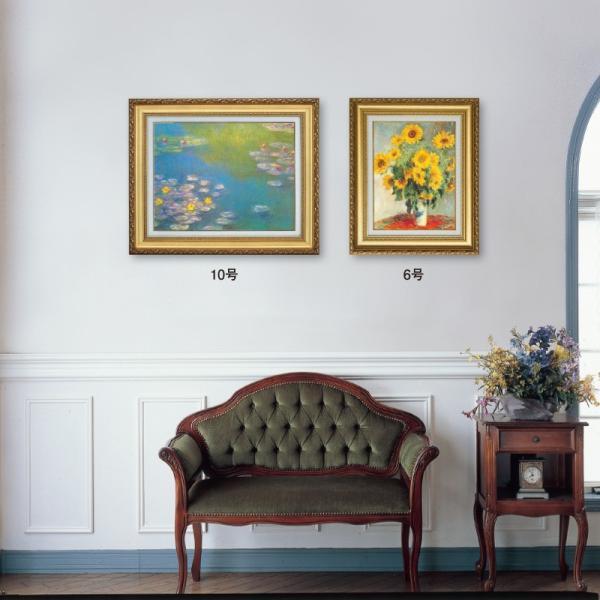 ゴッホ 花瓶のアイリス F6号 立体複製名画 美術品 レプリカ - アートの友社|k-1ba|02