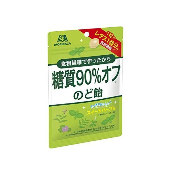 森永製菓 糖質90% オフのど飴 64g|k-and-f