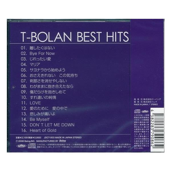 T-BOLAN CD  BEST HITS|k-fullfull1694|02