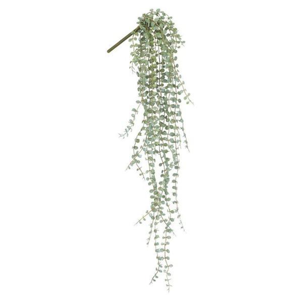 人工観葉植物 屋外対応 フロストボタンリーフバイン 66cm フェイクグリーン 観葉植物 造花 光触媒 CT触媒 インテリア(G-L)