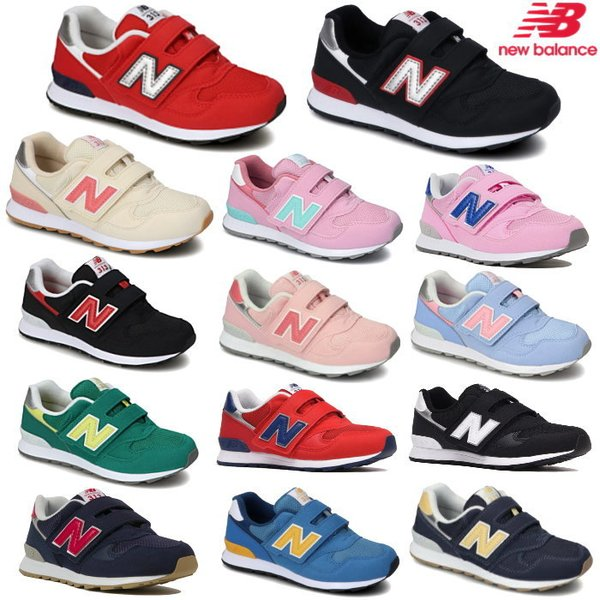New Balance ニューバランス キッズ ジュニア スニーカー 靴 シューズ sneaker kids PO313