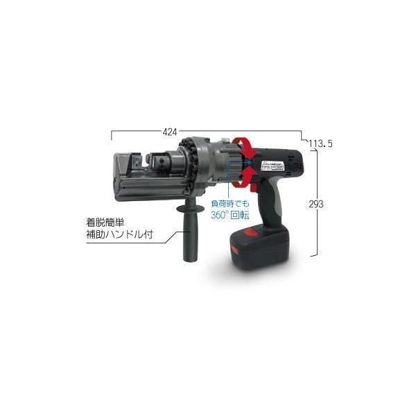 【代引き不可】育良精機 電動油圧充電式鉄筋カッター コードレス鉄筋カッター IS-SC19LE