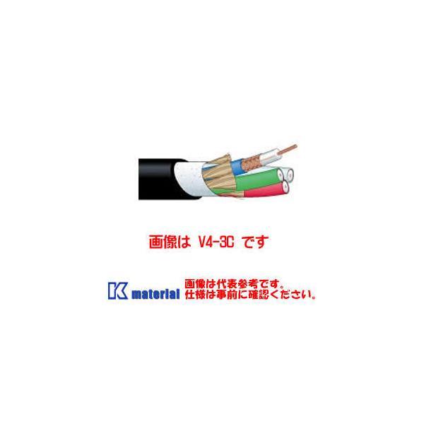 【代引不可】カナレ電気 CANARE 75Ω同軸マルチケーブル 5ch 5Cケーブル V5-5C-EM 30m巻 高密度編組シールド エコタイプ シース黒 [KA2636-30]