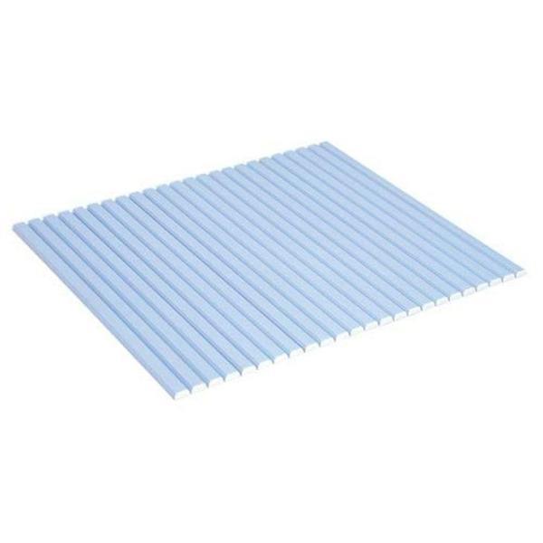 風呂フタ  ●●  ケイマック シャッター式風呂ふた 75×110cm ブルー L11 コンパクト ふろふた 4904892011716