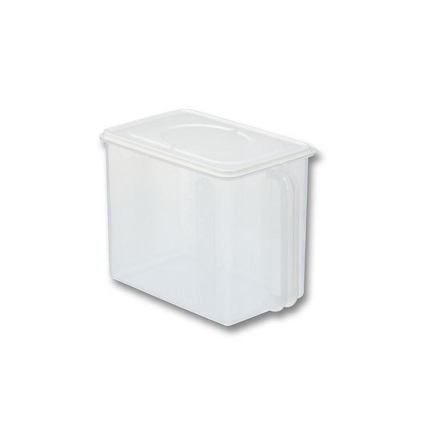 保存容器 イノマタ ハンディストッカー ホワイト キッチン 保存 ふた付 収納 ケース 4905596122562|k-mori