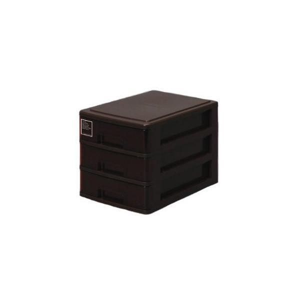 サンコーPC シルキー 403 ブラウン A4ファイル 文房具入れ 書類整理 小物整理 プラスチックケース 4973230431783