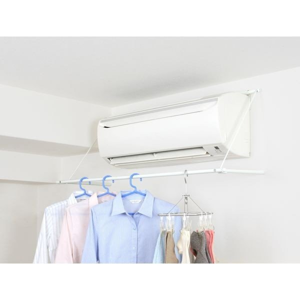 平安伸銅 エアコンハンガーACH-1 ランドリー 洗濯 物干し 部屋干し 室内干し HEIANSHINDO|k-mori|06