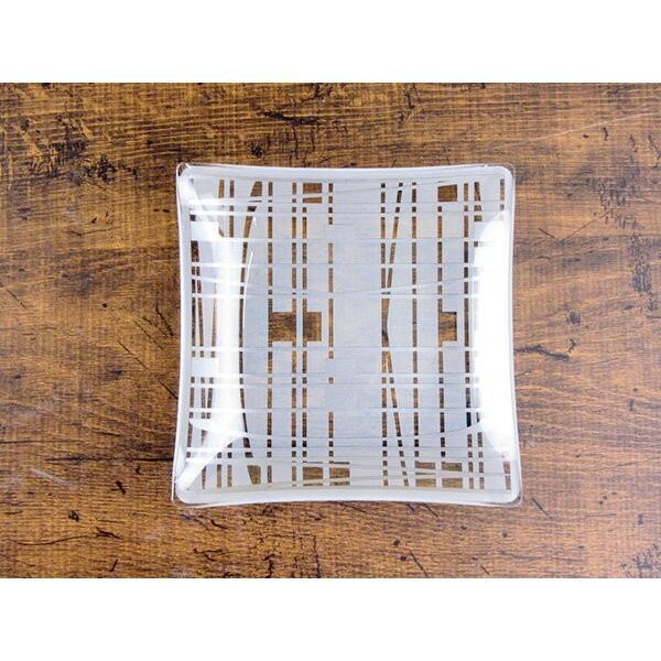 MICHEL KLEIN 軽量 スクエア ガラスプレート 小 13.8cm 洋食器 白い食器 四角 角皿 お皿 プレート 小皿 取り皿 銘々皿 ケーキ皿 カフェ風 軽い おしゃれ モダン|k-s-kitchen|03