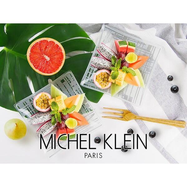 MICHEL KLEIN 軽量 スクエア ガラスプレート 小 13.8cm 洋食器 白い食器 四角 角皿 お皿 プレート 小皿 取り皿 銘々皿 ケーキ皿 カフェ風 軽い おしゃれ モダン|k-s-kitchen|08