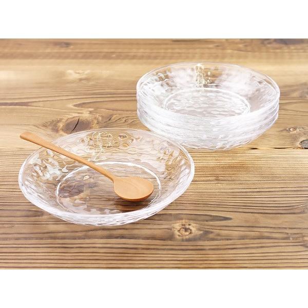 キラキラ ガラスの小皿 13.5cm アウトレット込 日本製 洋食器 ガラス食器 ガラス製 お皿 プレート 取り皿 副菜皿 醤油皿 デザート皿 カフェ風 北欧風 おしゃれ k-s-kitchen 11