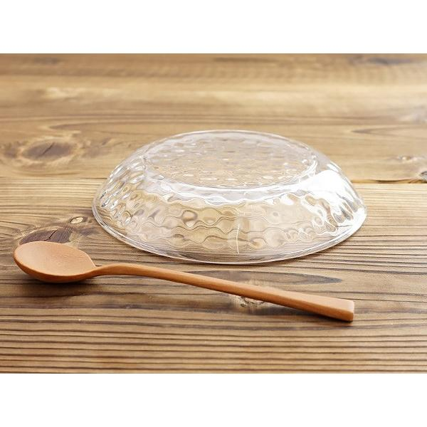 キラキラ ガラスの小皿 13.5cm アウトレット込 日本製 洋食器 ガラス食器 ガラス製 お皿 プレート 取り皿 副菜皿 醤油皿 デザート皿 カフェ風 北欧風 おしゃれ k-s-kitchen 08