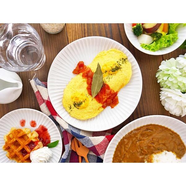 【LINE】選べる3色 中皿 20.4cm アウトレット込 日本製 美濃焼 陶器 洋食器 プレート パスタ皿 サラダ皿 主菜皿 ケーキ皿 デザート皿 北欧風 おしゃれ モダン|k-s-kitchen|03