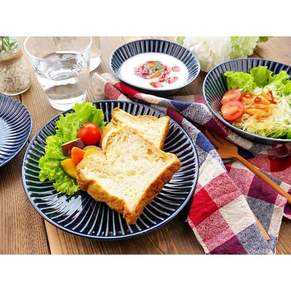 【LINE】選べる3色 中皿 20.4cm アウトレット込 日本製 美濃焼 陶器 洋食器 プレート パスタ皿 サラダ皿 主菜皿 ケーキ皿 デザート皿 北欧風 おしゃれ モダン|k-s-kitchen|04