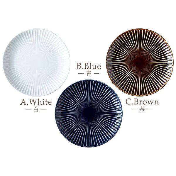 【LINE】選べる3色 中皿 20.4cm アウトレット込 日本製 美濃焼 陶器 洋食器 プレート パスタ皿 サラダ皿 主菜皿 ケーキ皿 デザート皿 北欧風 おしゃれ モダン|k-s-kitchen|07