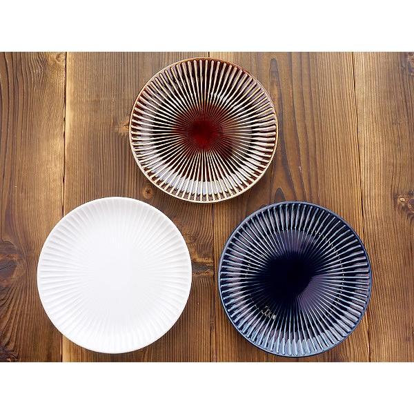 【LINE】選べる3色 中皿 20.4cm アウトレット込 日本製 美濃焼 陶器 洋食器 プレート パスタ皿 サラダ皿 主菜皿 ケーキ皿 デザート皿 北欧風 おしゃれ モダン|k-s-kitchen|09