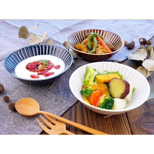 【LINE】選べる3色 小鉢 13.7cm アウトレット込 日本製 美濃焼 陶器 洋食器 お皿 ボール デザートボウル 取り鉢 中鉢 とんすい カフェ風 北欧風 おしゃれ モダン k-s-kitchen 02